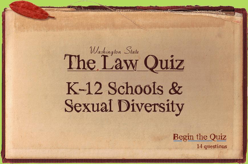 Washington State Legal Legislative And Policy Links Safe Schools